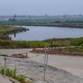 Overlooking the Pajaro River Estuary.- Zmudowski State Beach