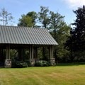 Picnic shelter at Howard Miller Steelhead Park.- Howard Miller Steelhead Park Campground