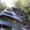 Several smaller waterfalls on the way to Serene.- Lake Serene
