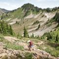 The High Divide Trail.- Hoh to Sol Duc via High Divide Trail