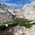 The Mount Whitney Trail just before Trail Camp.- Mount Whitney Hike via Whitney Portal