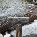 Sign toward Lone Pine Lake.- Mount Whitney Hike via Whitney Portal