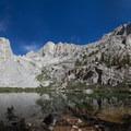 Mirror Lake along the Mount Whitney Trail.- Mount Whitney Hike via Whitney Portal