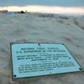Summit sign.- Mount Whitney Hike via Whitney Portal