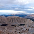 The view from Trail Crest.- Mount Whitney Hike via Whitney Portal