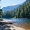 Barclay Lake.- Barclay Lake