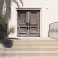 Historic door to Casa del Prado.- El Prado
