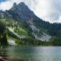 Eagle Lake and Merchant Peak.- Eagle Lake