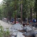 Whitney Portal Campground.- Whitney Portal Campground