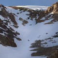 Dunderberg Peak's southeast face.- Dunderberg Peak, Southeast Face