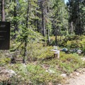 Bear Lakes Loop Trailhead.- Bear Lakes Loop via Round Lake