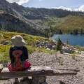 Vista over Round Lake.- Bear Lakes Loop via Round Lake