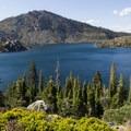 Long Lake is the largest lake on the loop.- Bear Lakes Loop via Round Lake