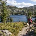 Big Bear Lake.- Bear Lakes Loop via Round Lake