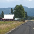 Ranch off of Grubb Road in the Camas Prairie.- Conboy Lake National Wildlife Refuge