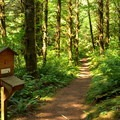 Register at the beginning of South Baker Lake Trail.- South Baker Lake Trail