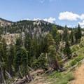 Sierra Buttes Trail. - Sierra Buttes Trail