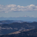 On a clear day, Lassen Peak (10,457') can be seen to the north. - Sierra Buttes Trail