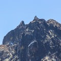 The lookout is perched on the precipice of the 8,587-foot Sierra Buttes.- Sierra Buttes Fire Lookout
