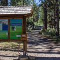 Mount Tallac Summer Trailhead.- Cathedral Lake