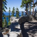 Walkways, intrepretive signs, and a viewing deck are included.- Inspiration Point