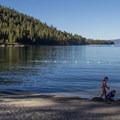Emerald Bay State park.- Emerald Bay State Park