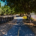 Rancho San Antonio Bike Path.- Lower Meadow Trail to Deer Hollow Farm