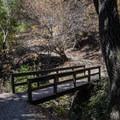 Bridge crossing Permanente Creek.- Lower Meadow Trail to Deer Hollow Farm
