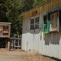Blacksmith shop at Deer Hollow Farm.- Lower Meadow Trail to Deer Hollow Farm