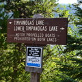 Motorized boats are prohibited on the lakes.- Timpanogas Campground
