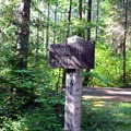 River path trail from Sacandaga Campground.- Sacandaga Campground