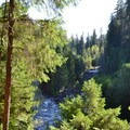Middle Fork of the Willamette River.- Sacandaga Campground