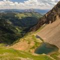 Lake below Cascade Mountain.- Angel Pass