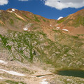 Lake below Mineral Point.- Angel Pass