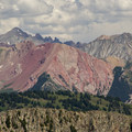 A vast array of mountains in the surrounding area.- Angel Pass