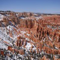 View north from the Bryce Canyon Rim Trail.- Bryce Canyon Rim Trail, Sunset to Bryce Point