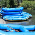 Raft supply near put-in.- Truckee River Float