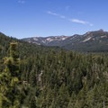 Looking west into Blackwood Canyon.- Eagle Rock