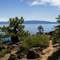 Trail out to the Eagle Rock vista.- Eagle Rock