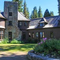 Ehrman Mansion is the park's centerpiece.- Sugar Pine Point State Park