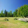 Lake Sammamish State Park playground.- Lake Sammamish State Park