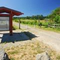 Marymoor Park natural area entrance.- Marymoor Park