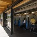 Marymoor Park's pet wash pavilion.- Marymoor Park