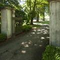 Clise Mansion entrance at Marymoor Park.- Marymoor Park