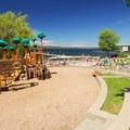 Houghton Beach Park playground.- Houghton Beach Park