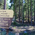 Bayview Trailhead Campground.- Bayview Trailhead Campground