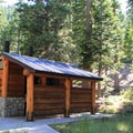 Facitlies at Bayview Trailhead Campground.- Bayview Trailhead Campground