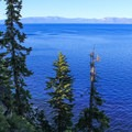 Lakeside views from the Rubicon Trail.- Rubicon Trail