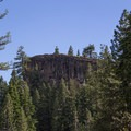 Eagle Rock as seen from Highway 89.- Eagle Rock