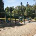 Matthews Beach Park playground area.- Matthews Beach Park